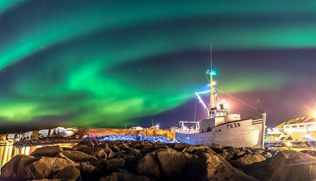 Thema, IJsland noorderlicht reis