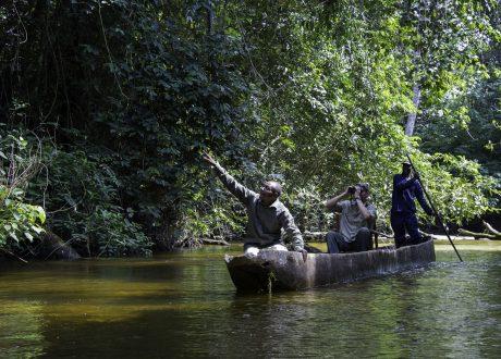 Odzala National Park kano tocht