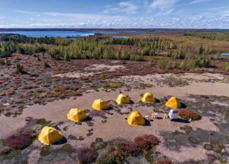 Schmock Lake Tundra Camp