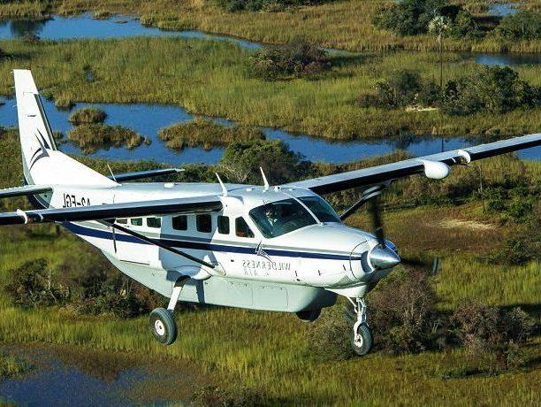 Fly in safari reizen