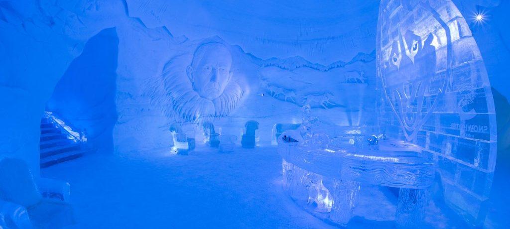 @Kirkenes snowhotel, Noorwegen