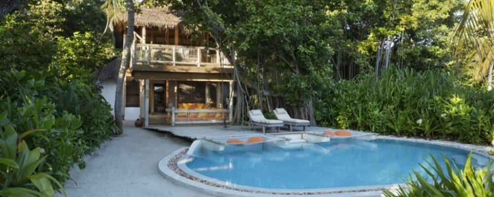 Soneva Fushi Crusoe villa suite with pool