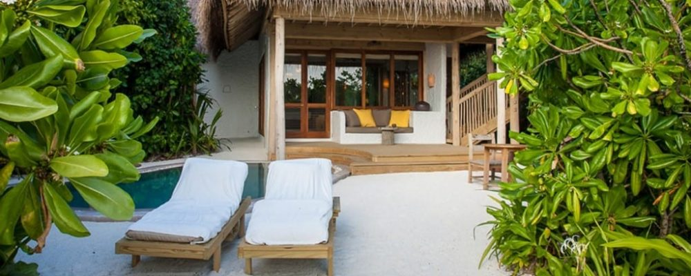 Soneva Fushi Family Villa Suite Pool