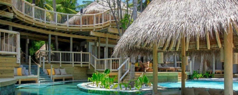 Soneva Fushi jungle reserve swimming pool