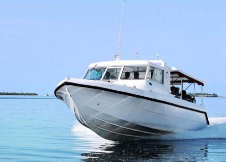 Malediven speedboot transfer