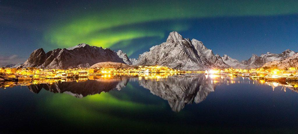 Tromso, Noorse fjorden Noorwegen