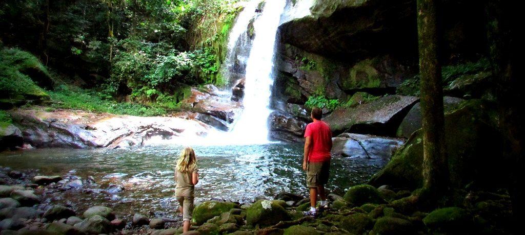 Udzungwa - Sanje falls