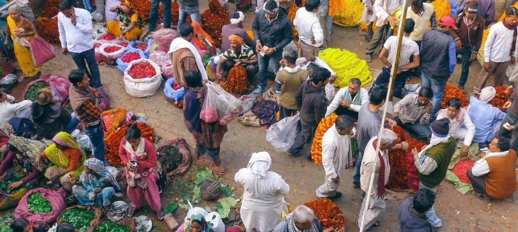 Varanasi - markt - Eddy Milfort