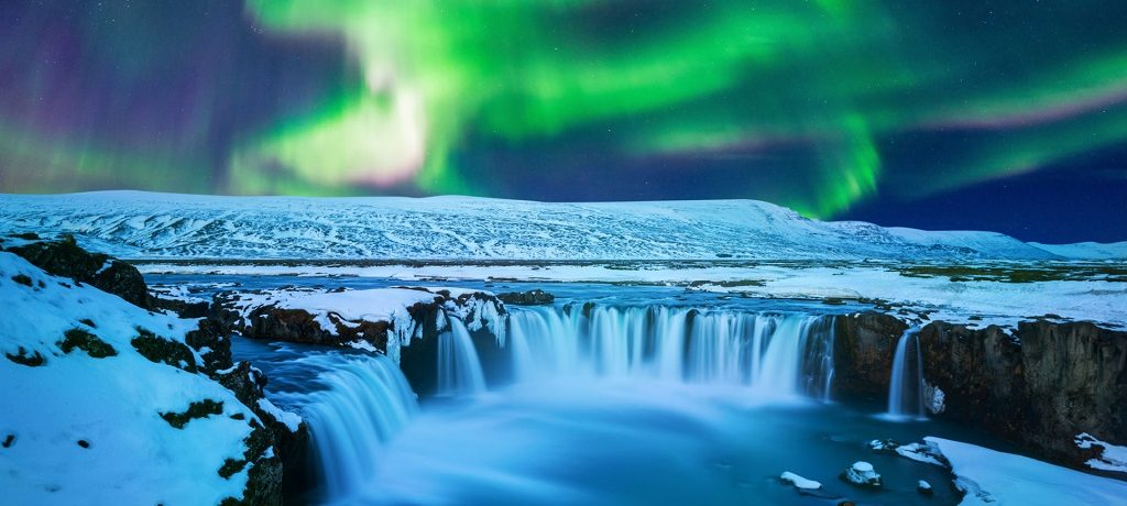 Luxe Noorderlicht winter IJsland