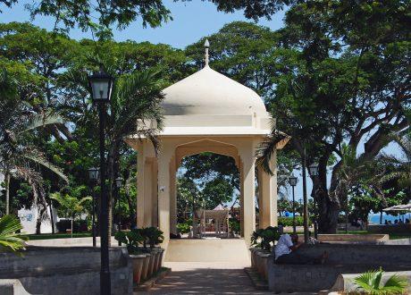 Forodhani Tuin, Zanzibar Foto: Harvey Barrison
