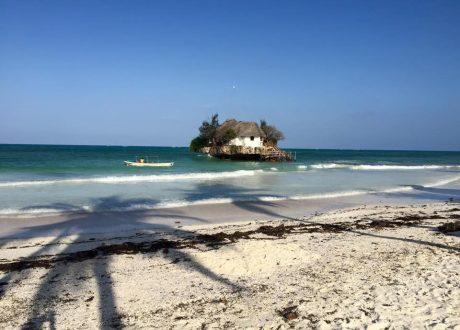 Rock Restaurant, Zanzibar Foto: Christine Olsen
