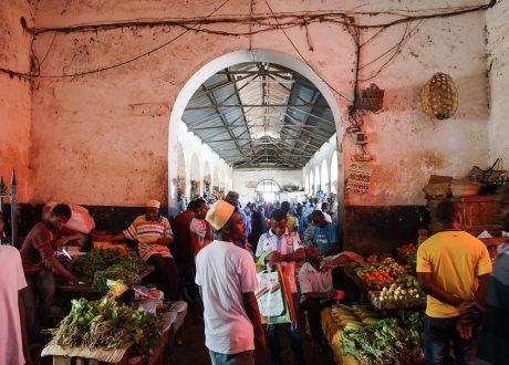 Stone Town Markt, Zanzibar Foto: Mathias Apitz