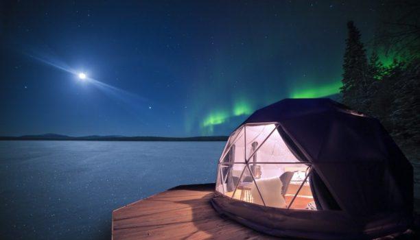 Aurora Domes Torassieppi, Noorderlichtweekend Fins Lapland