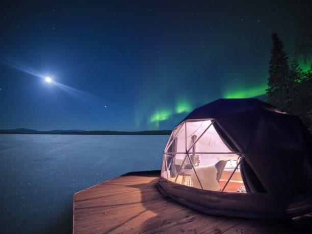 Aurora Dome Torassieppi, Fins Lapland