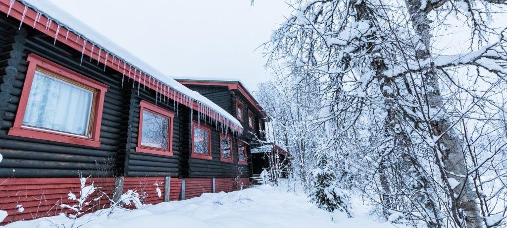 Huskysafari Fins Lapland (Äkäskero)