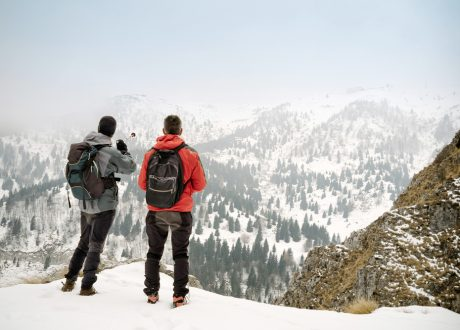 Winterexcursie, Abruzzen