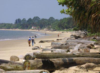 Strand Libreville, activiteiten Gabon