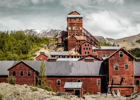 Kennecott mijn, Wrangell - St. Elias National Park